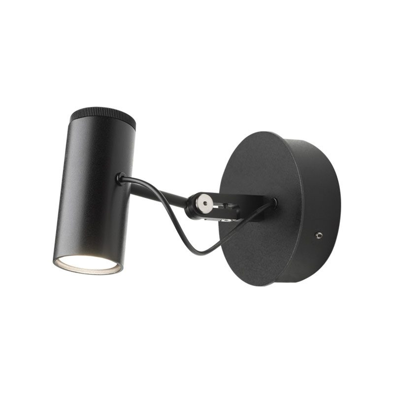 Marset Polo Wall Light Black