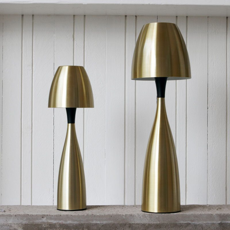 Belid Lighting Anemon 125 Table Lamp Brass B