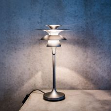Belid Lighting Picasso 355 Table Lamp Grey Oxide B