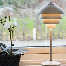 Belid Lighting Valencia Table Lamp White B
