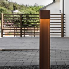 Belid Lighting Taurus 788 Bollard Light Rust C