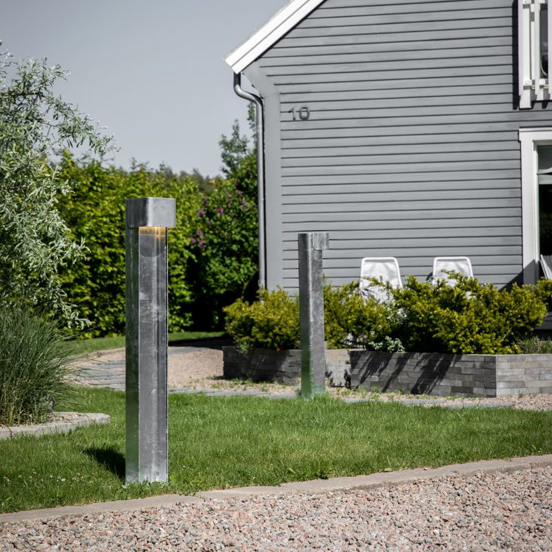 Belid Lighting Taurus 988 Bollard Light Galv B