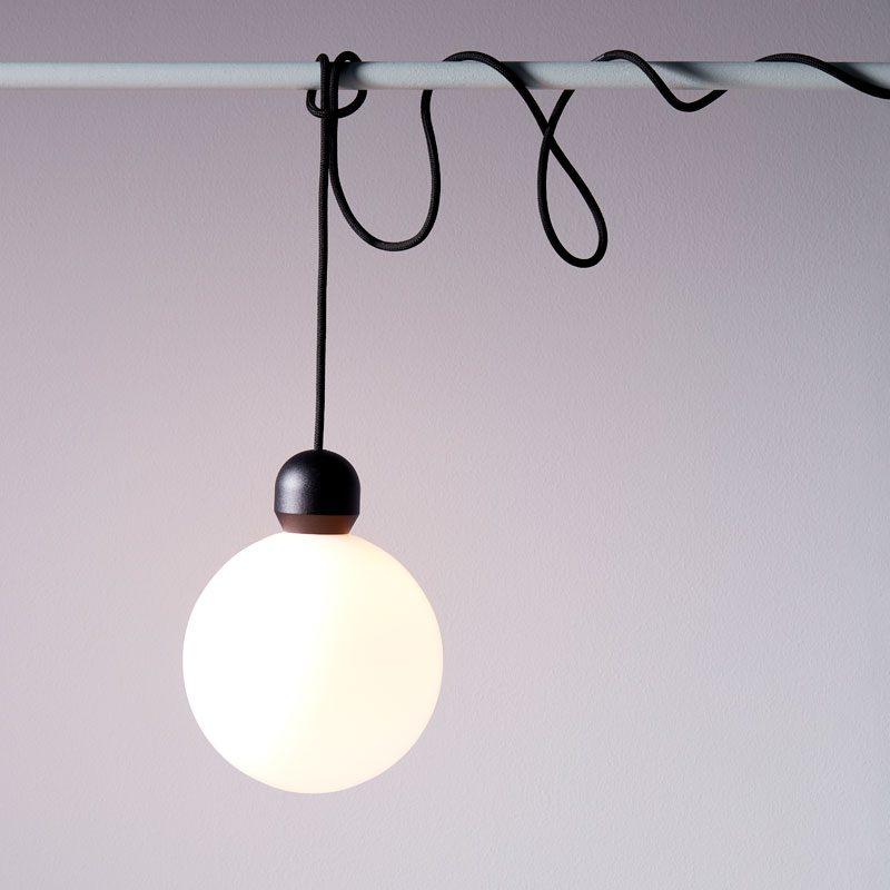 Belid Lighting Atom Pendant Light Black B