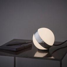 Belid Lighting Circle Low Table Lamp Chrome B