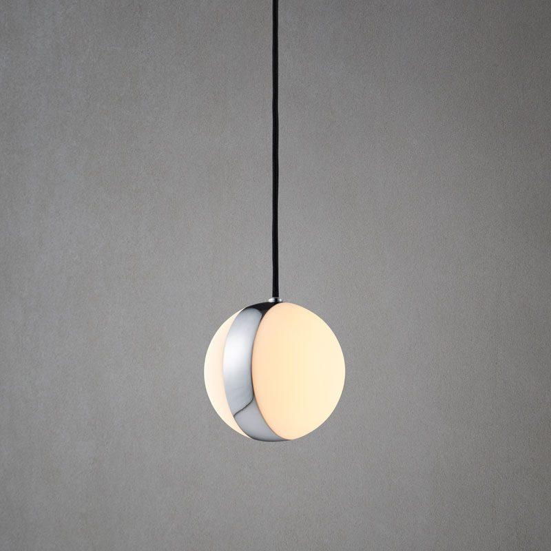 Belid Lighting Circle Pendant Light Chrome C