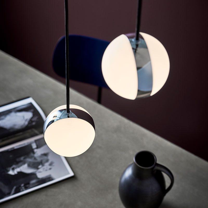 Belid Lighting Circle Pendant Light Chrome D