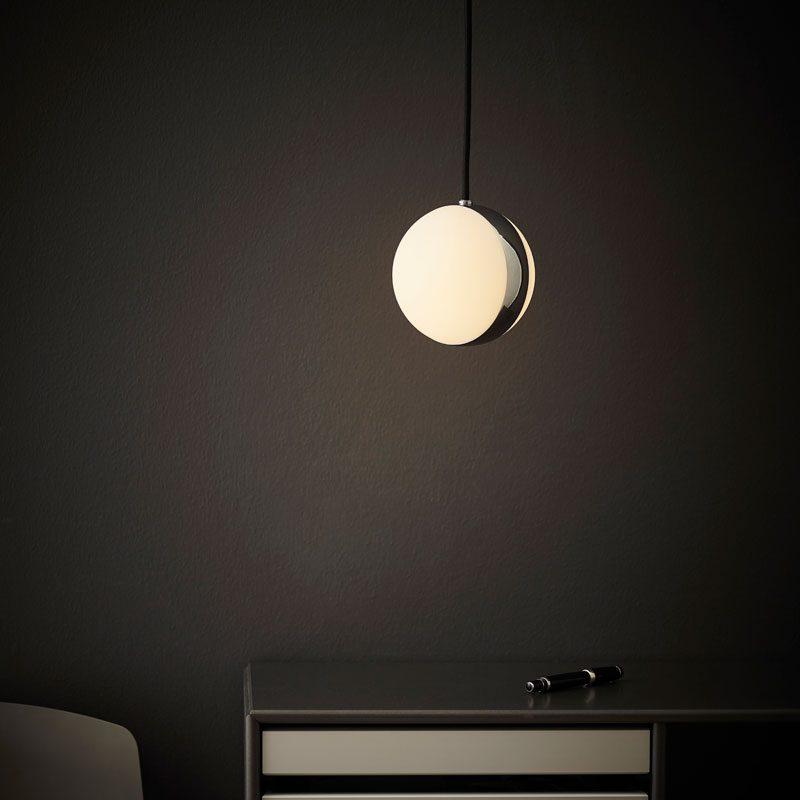 Belid Lighting Circle Pendant Light Chrome E
