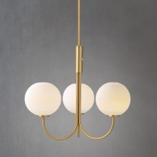 Belid Lighting Ballon Pendant Light Brass B