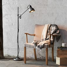 Belid Lighting Magnum 2.0 Floor Lamp Grey Oxide C