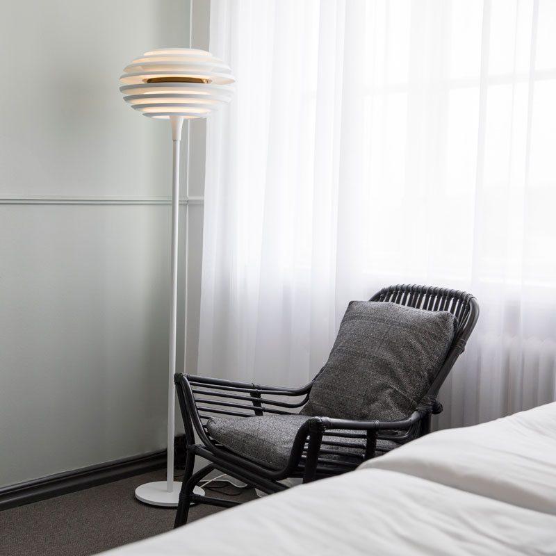 Belid Lighting Ellipse Floor Lamp Brass B
