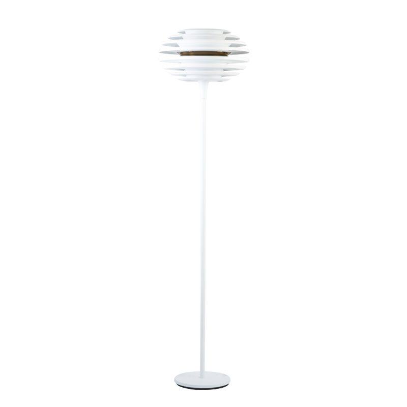 Belid Lighting Ellipse Floor Lamp Brass