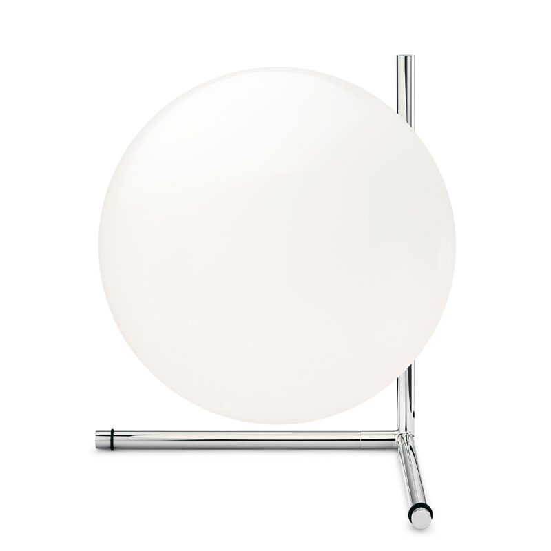 Flos Ic Light T2 Low Table Lamp Chrome