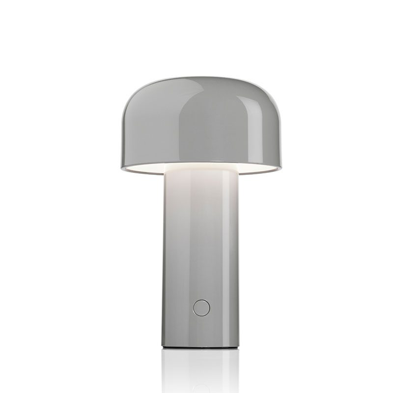 Flos Bellhop Battery Table Lamp Grey