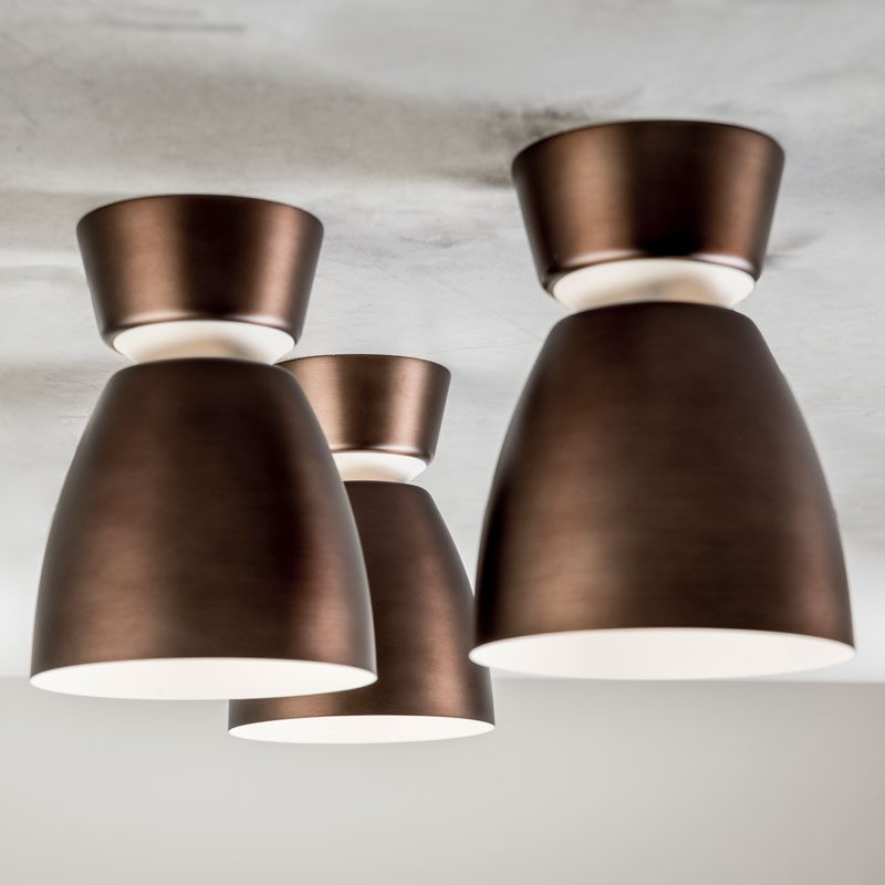 Belid Lighting Anemon Ceiling Light Oxide B
