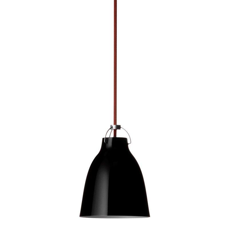 Light Years Caravaggio P0 Pendent Light Black Red