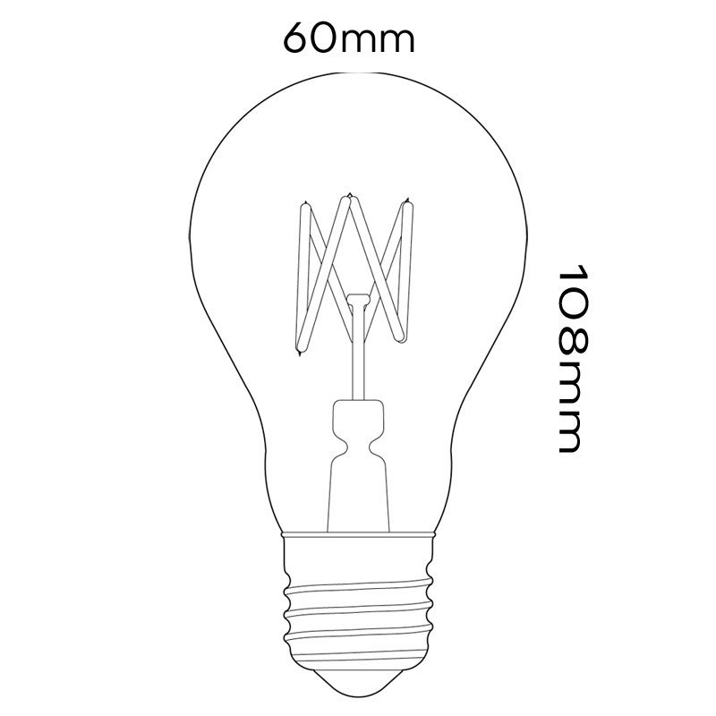 Tala 3w Led Crown Lamp Line Drawing