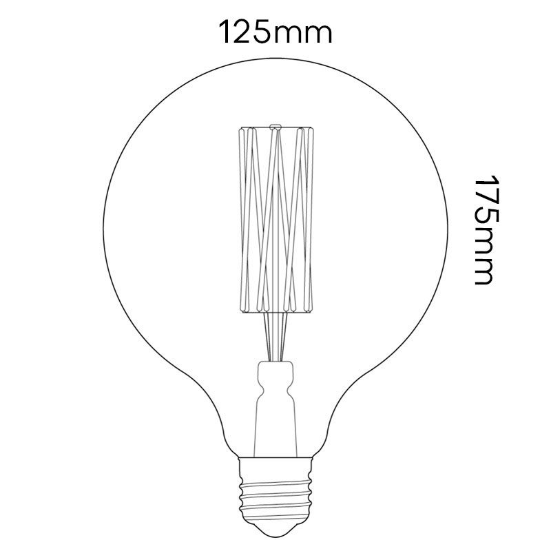 Tala 6w Gaia Lamp Line Drawing