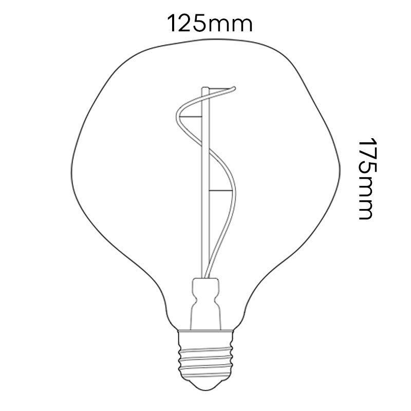 Tala Voronoi I Lamp Line Drawing