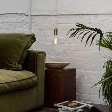 Tala Elva Pendant Light Brass C
