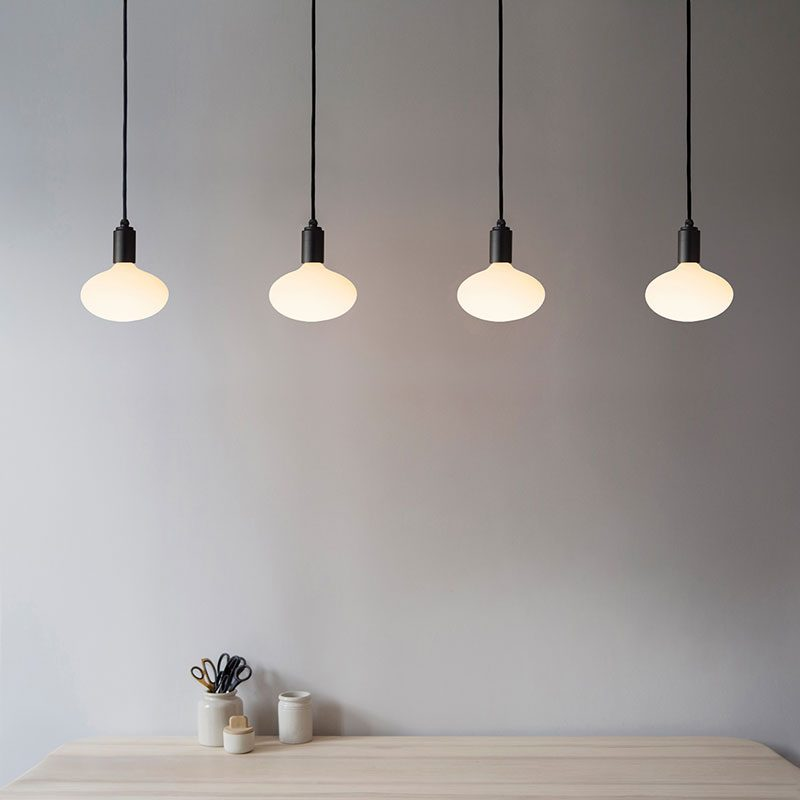 Tala Oval Pendant Light Graphite B