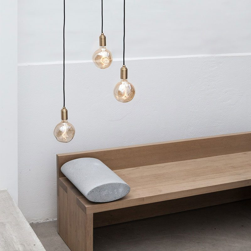 Tala Voronoi I Pendant Light Brass B