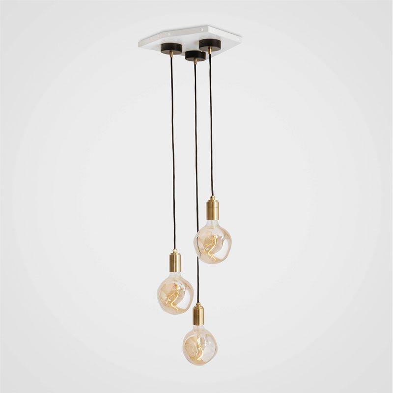 Tala Voronoi I Pendant Light Brass