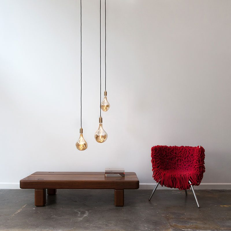 Tala Voronoi Ii Pendant Light Brass C