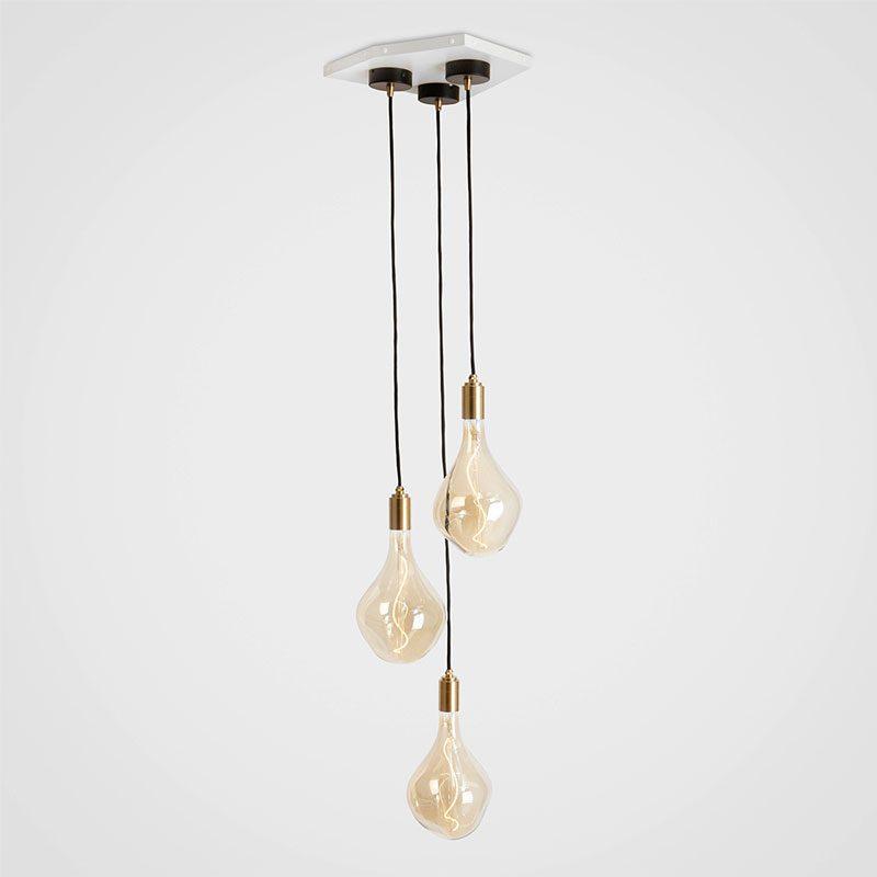 Tala Voronoi Ii Pendant Light Brass