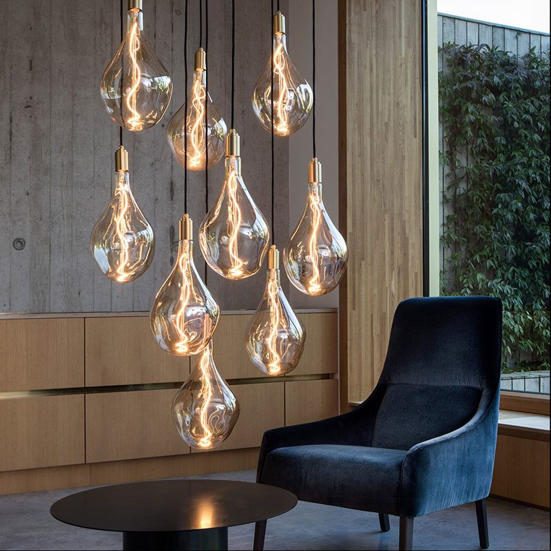 Tala Voronoi Iii Pendant Light Brass B