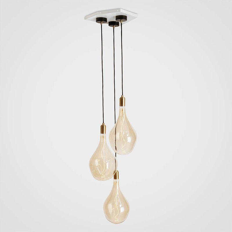 Tala Voronoi Iii Pendant Light Brass