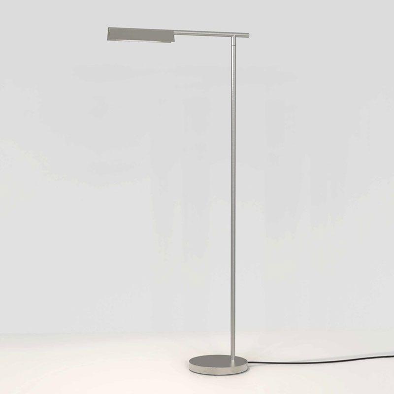 Astro Fold Led Floor Lamp Matt Nickel