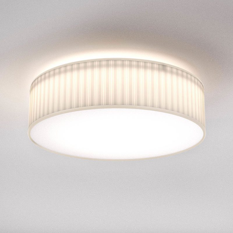 Astro Cambria 480 Pleated Light White Fabric