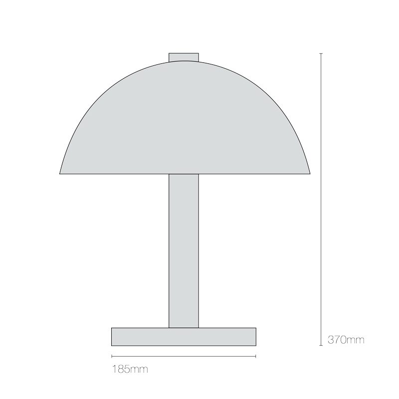 Original Btc Cosmo Table Light Line Drawing
