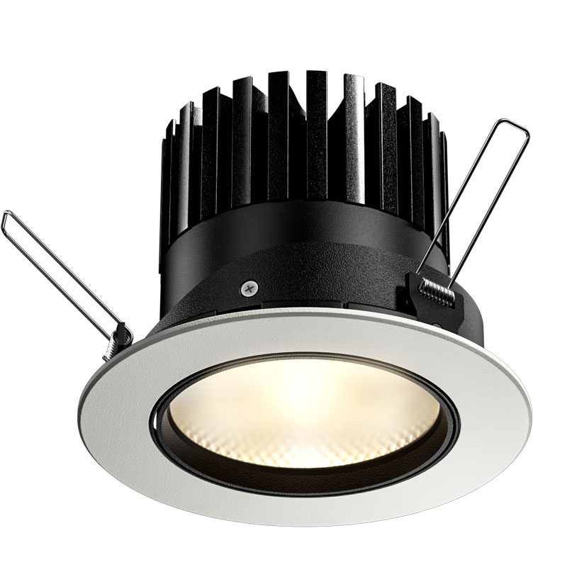 Orluna Arello Adjustable Downlight White B