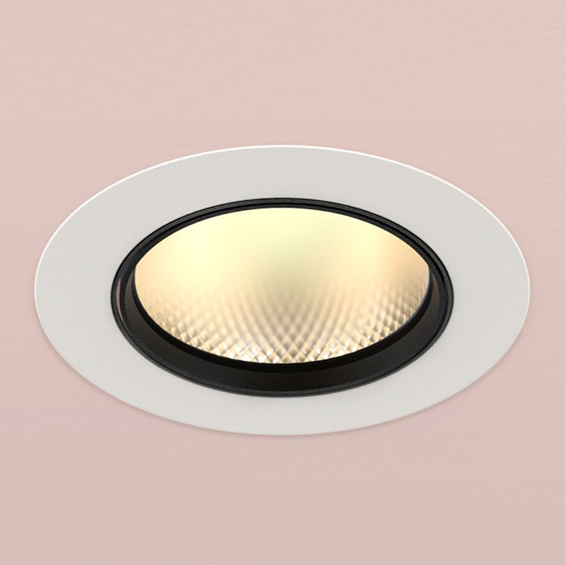 Orluna Arello Adjustable Downlight White C