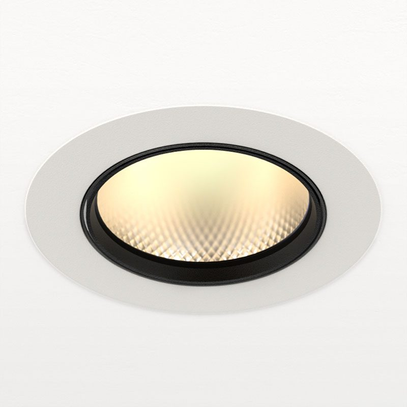 Orluna Arello Adjustable Downlight White D