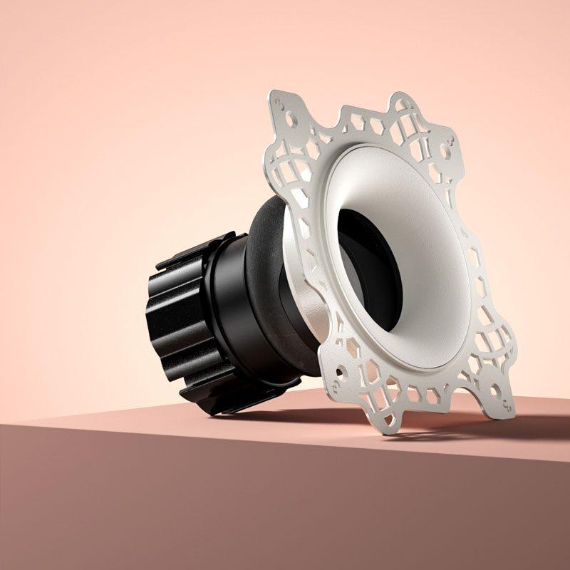 Orluna Camber Adjustable Downlight White B
