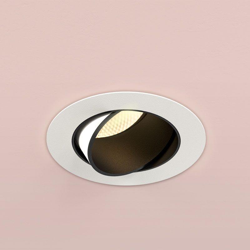Orluna Mina Adjustable Downlight White B