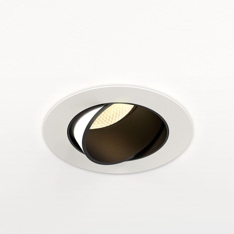 Orluna Mina Adjustable Downlight White