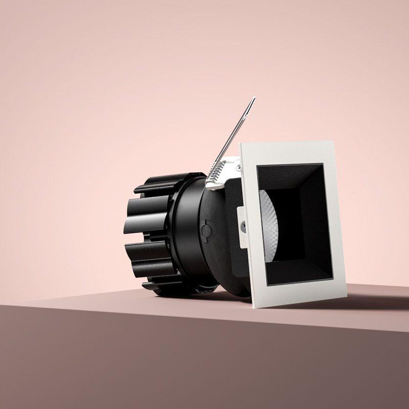 Orluna Vira Adjustable Downlight White C