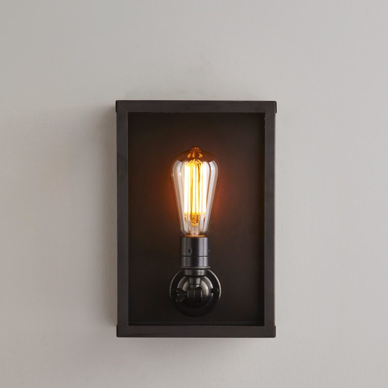 Box Small Internal Glass Wall Light Buy Online Now At All Square Lighting