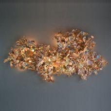 Jonathan Coles Copper Leaf Wall Light Copper