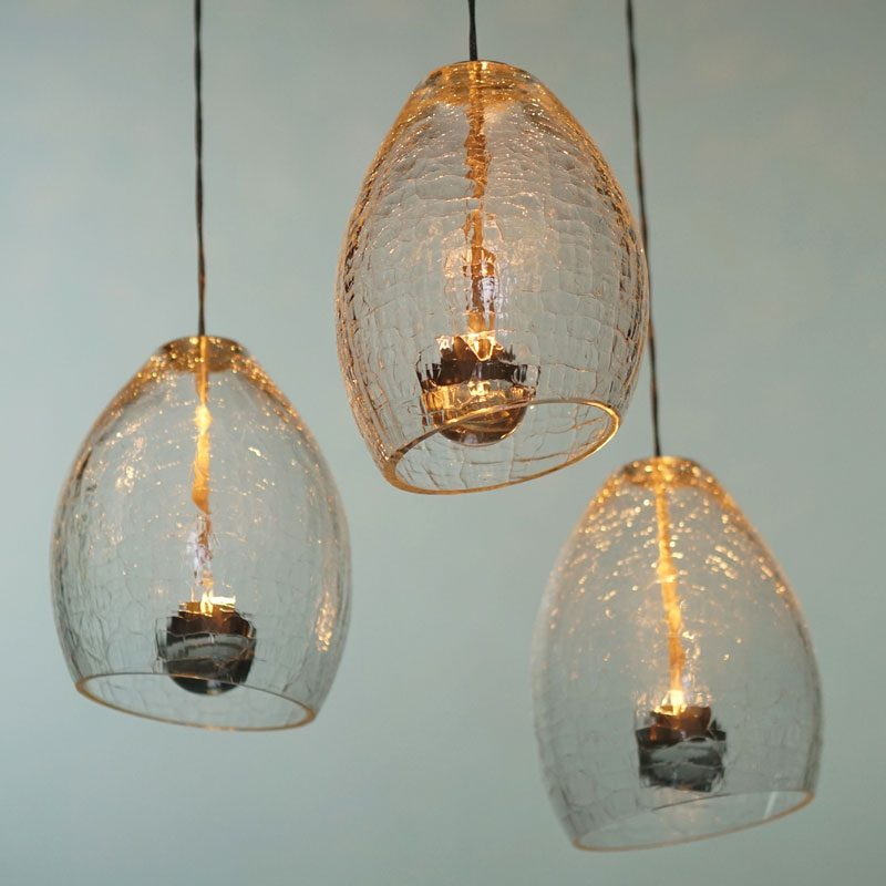 Jonathan Coles Veil Pendant Light Clear B