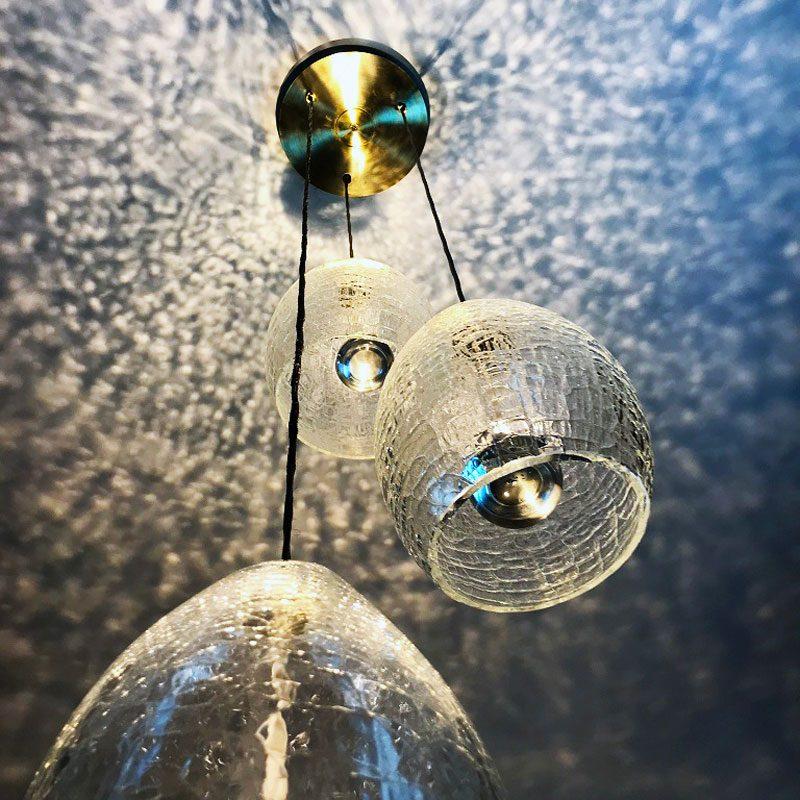 Jonathan Coles Veil Pendant Light Clear E