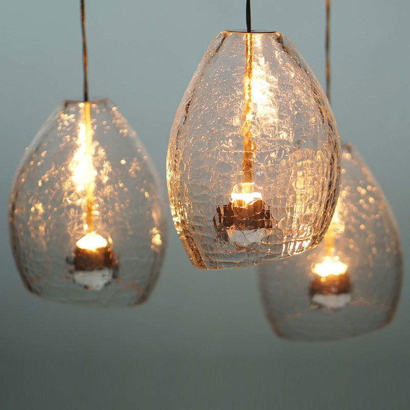 Jonathan Coles Veil Pendant Light Clear F