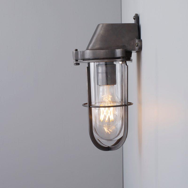 Davey Lighting Weatherproof Ship's Wall Light Clear Glass B