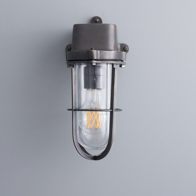Davey Lighting Weatherproof Ship's Wall Light Clear Glass C