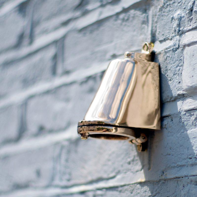 Davey Lighting Mast 0749 Wall Light Polished Bronze E