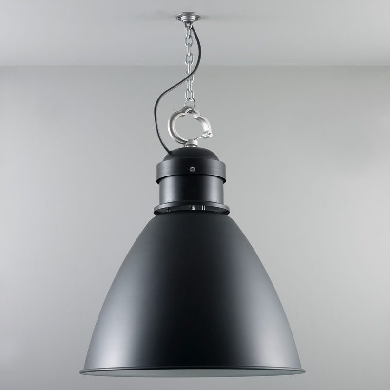 Davey Lighting 7380 Large Pendant Light Black Off