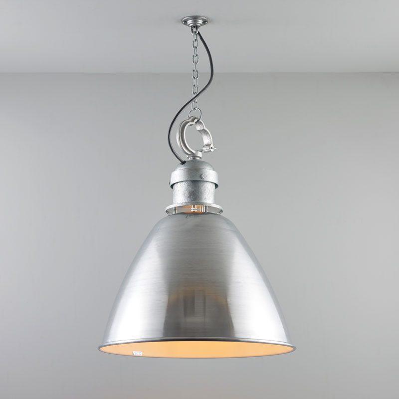 Davey Lighting 7380 Medium Pendant Light Aluminium On